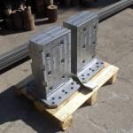 strutture per il bloccaggio multiplo per lavorazioni in serie su Macchine utensili multipallets
